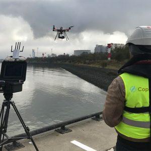 Drohne Kraftwerk