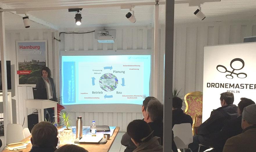 Vortrag Building Information Modeling Dronemasters Hamburg