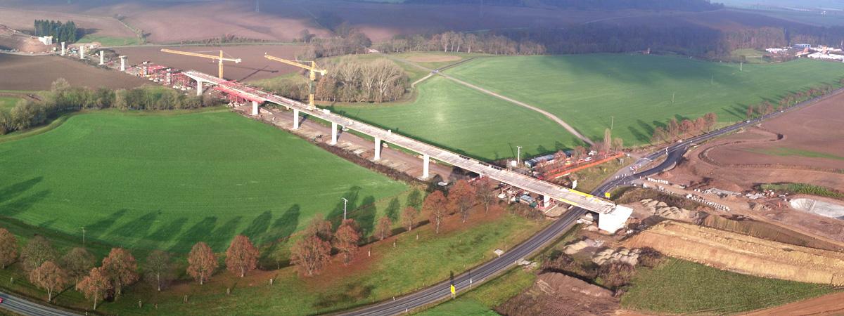 Baustellendokumentation Brücke