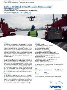 Fachtagung Drohnen TÜV Nord