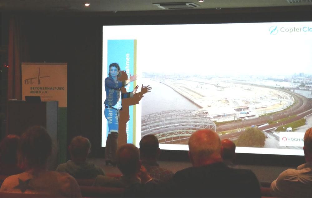 Vortrag Drohnen Bauwirtschaft