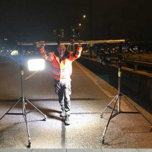 Inspektion und Dokumentation Autobahn