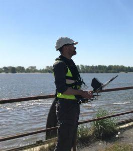 Drohne Hafen Hamburg