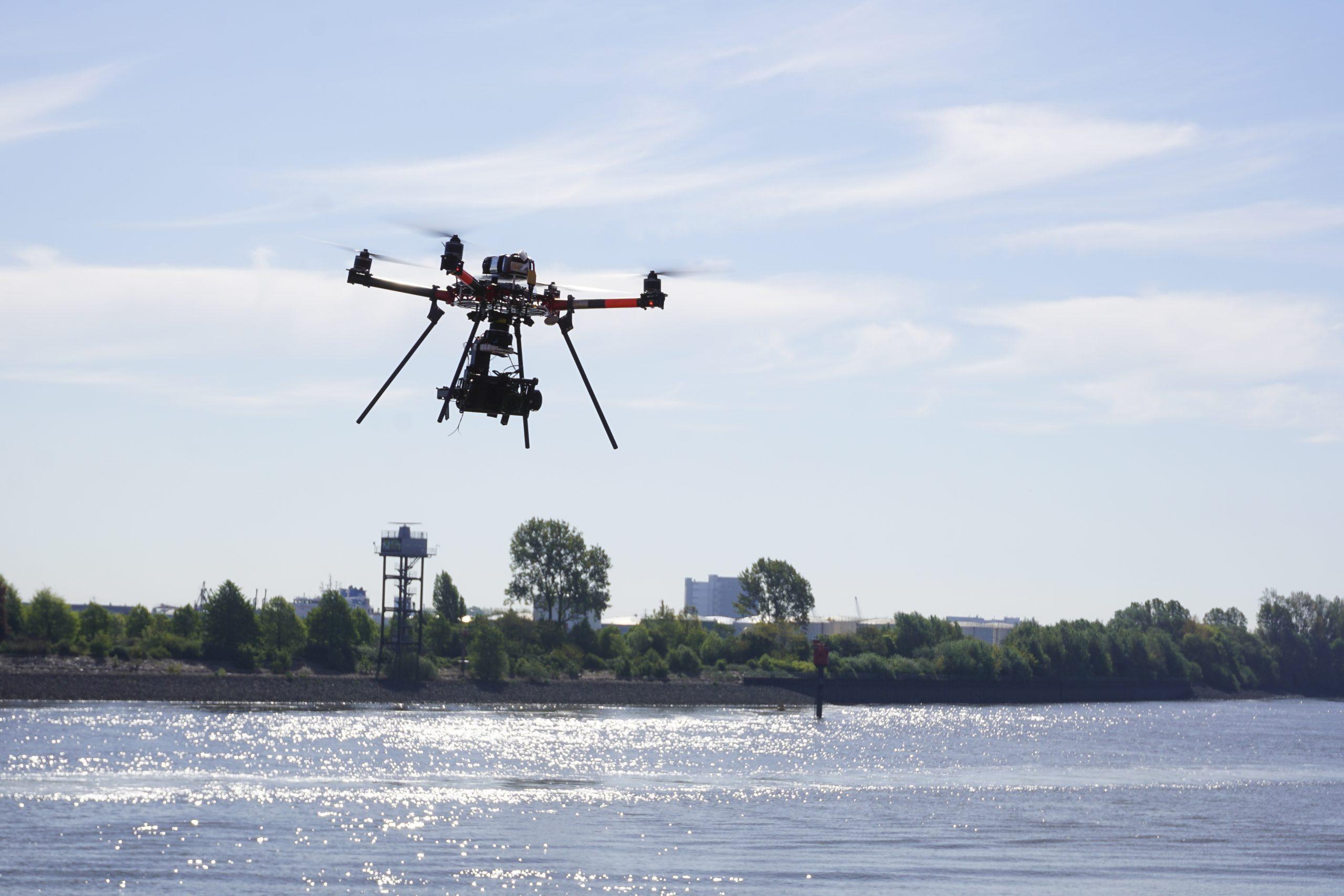 Drohne Vermessung Hamburg