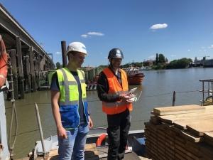 Brückeninspektion mit Drohne