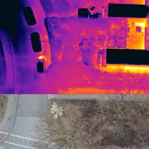 Wärmebildkamera Gebäude
